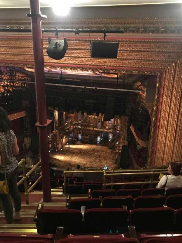 CIBC Theatre, section: BALC-R, row: N, seat: 2