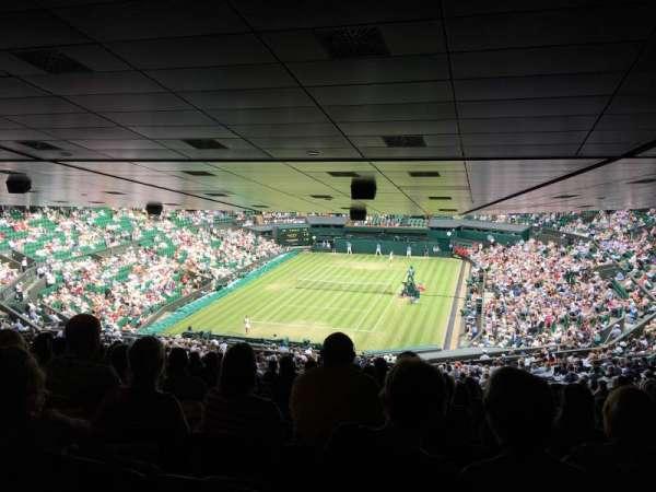 Wimbledon, Centre Court, section: 510, row: ZE, seat: 186