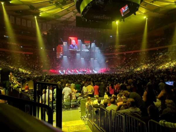 Madison Square Garden, section: 120, row: 3, seat: 3