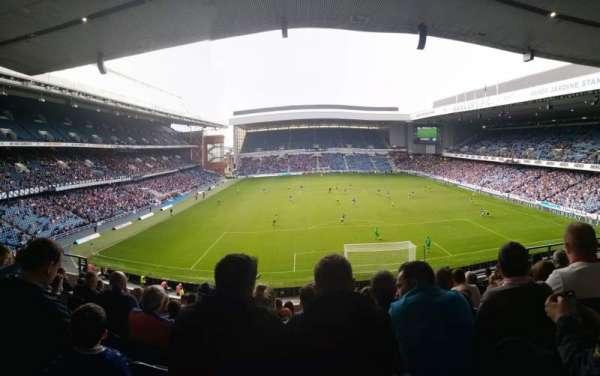 Ibrox Stadium, section: Copeland, row: J, seat: 99