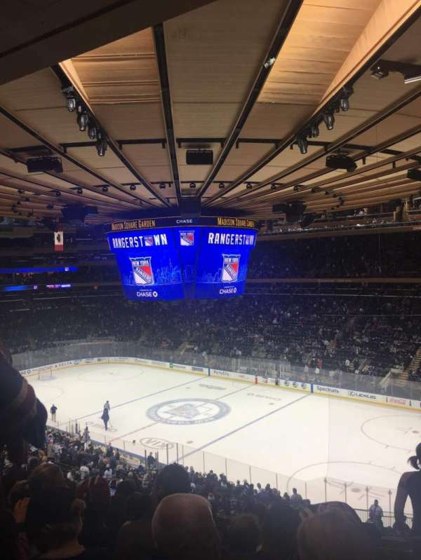 Madison Square Garden, section: 214, row: 7, seat: 9