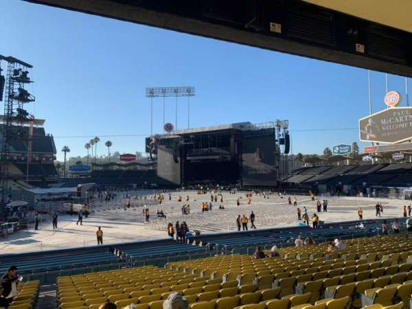 Dodger Stadium, section: 22FD, row: U, seat: 1