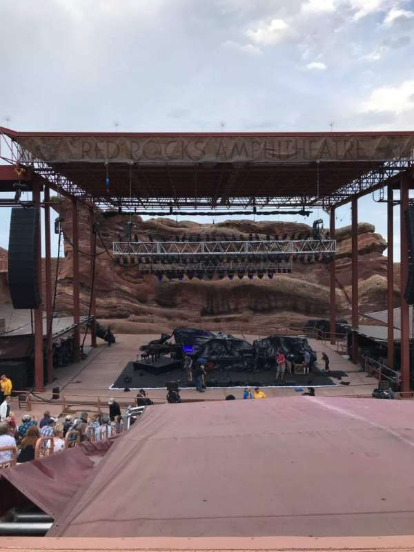 Red Rocks Amphitheatre, section: Center, row: 17, seat: 65