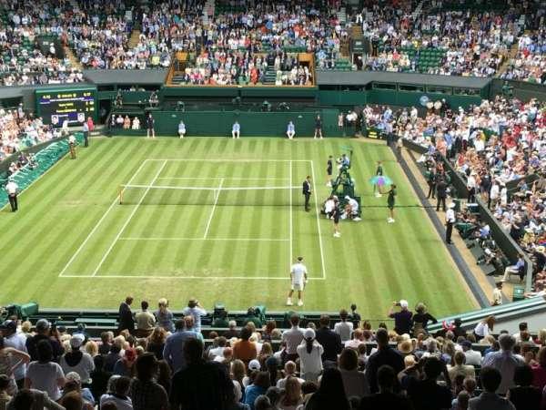 Wimbledon, Centre Court, section: 510, row: X, seat: 206