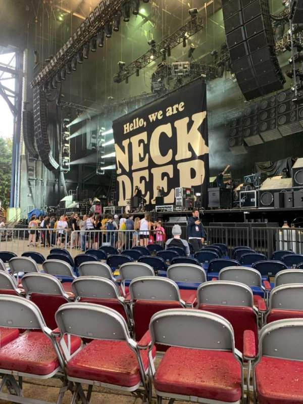 Jiffy Lube Live, section: Orchestra 1, row: L, seat: 8