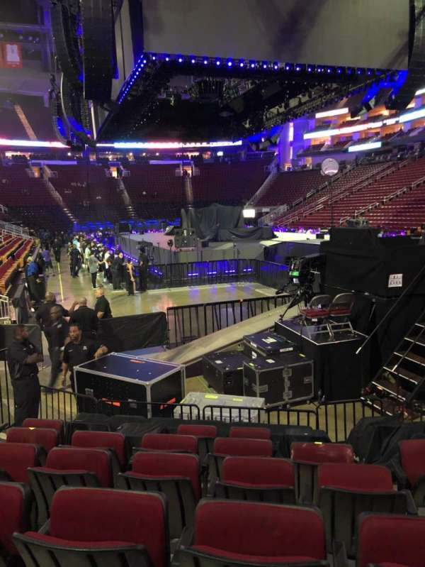 Toyota Center, section: 102, row: 10, seat: 6