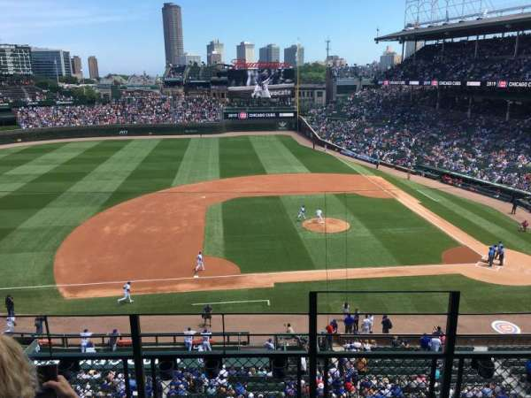 Wrigley Field, section: 310L, row: 4, seat: 16