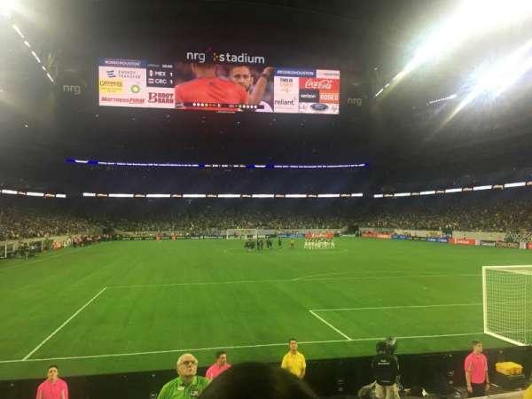 NRG Stadium, section: 138, row: G, seat: 3
