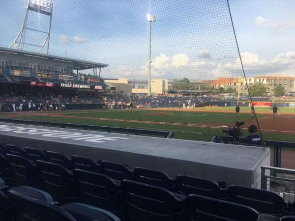 First Horizon Park, section: 118, row: H, seat: 4