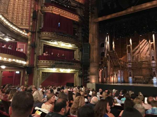 CIBC Theatre, section: ORCH-C, row: Q, seat: 111