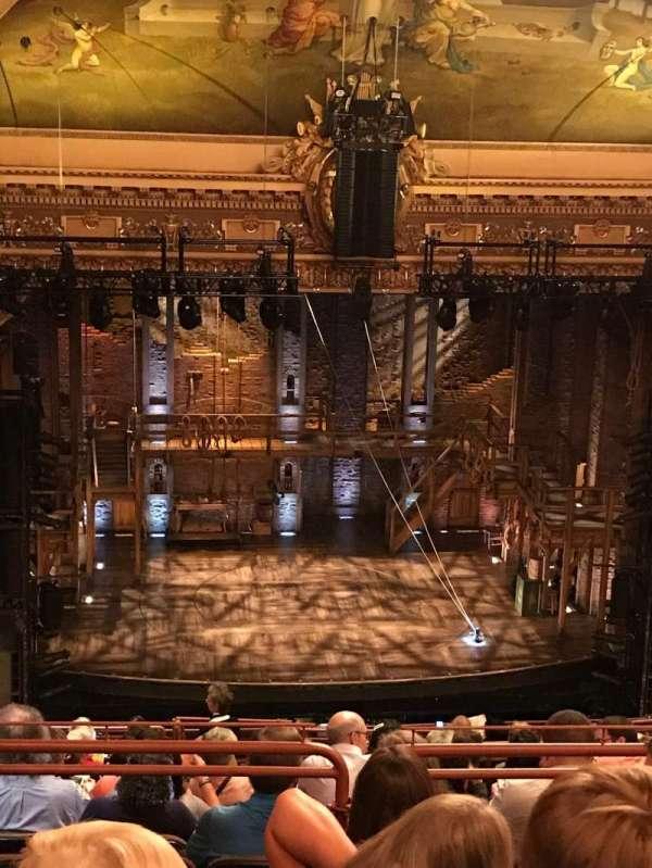 Hippodrome Theatre, section: Center Upper Balcony, row: Q, seat: 301