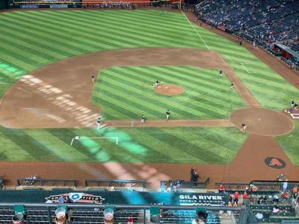 Chase Field, section: 221, row: 9
