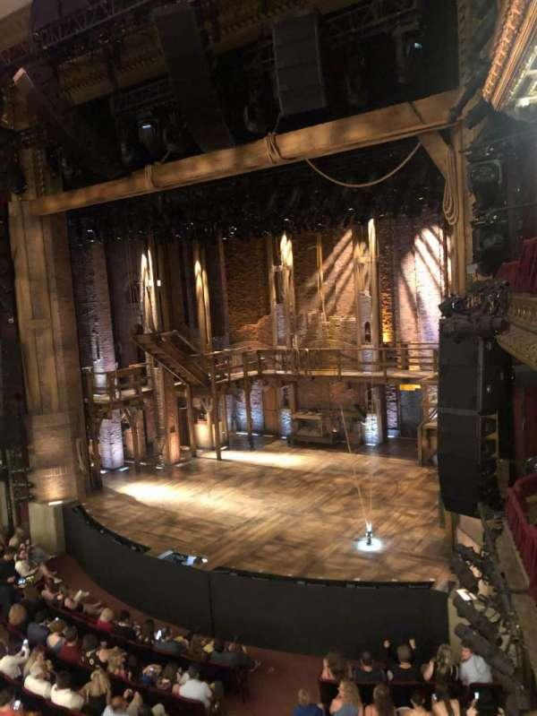 CIBC Theatre, section: Mezz-r, row: A, seat: 10