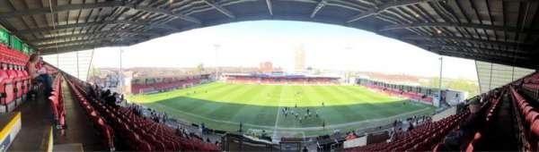 Alexandra Stadium, section: E, row: CC, seat: 100