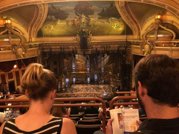 Hippodrome Theatre, section: Center Upper Balcony, row: N, seat: 112
