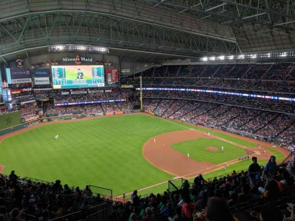 Minute Maid Park, section: 408, row: 16, seat: 4