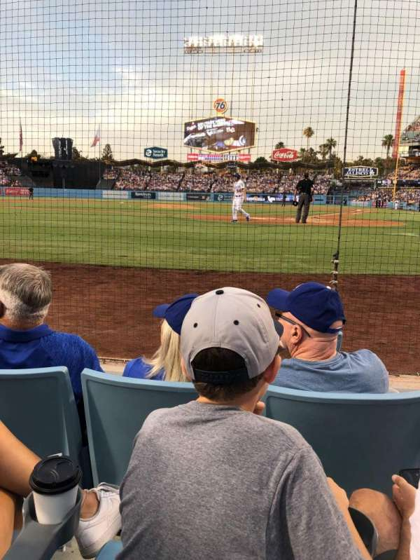 Dodger Stadium, section: 5DG, row: CC, seat: 1