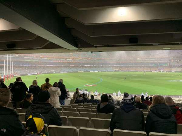 Melbourne Cricket Ground, section: M42, row: Kk, seat: 11