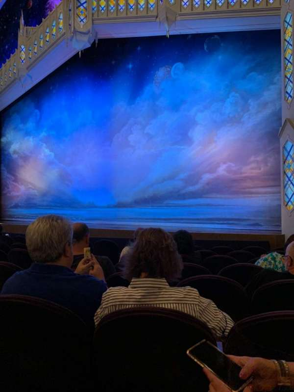 Eugene O'Neill Theatre, row: H, seat: 12