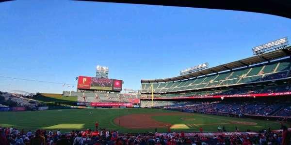 Angel Stadium, section: T210, row: B, seat: 1