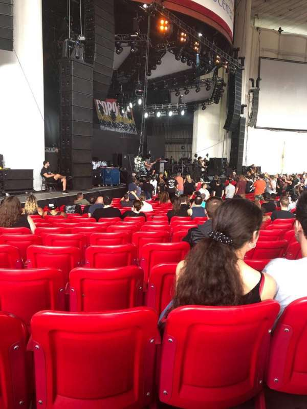 PNC Bank Arts Center, section: 104, row: T, seat: 31