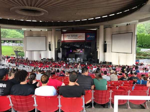 PNC Bank Arts Center, section: 402, row: F, seat: 106