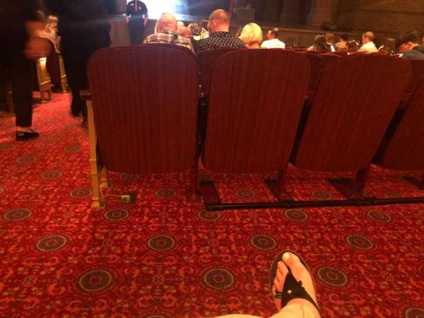 Lyric Theatre, section: Orchestra R, row: K, seat: 2