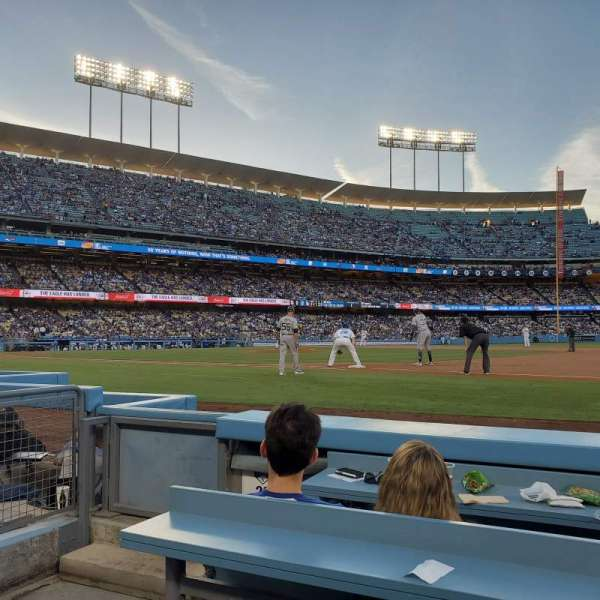 Dodger Stadium , section: 26BL, row: 3, seat: 1