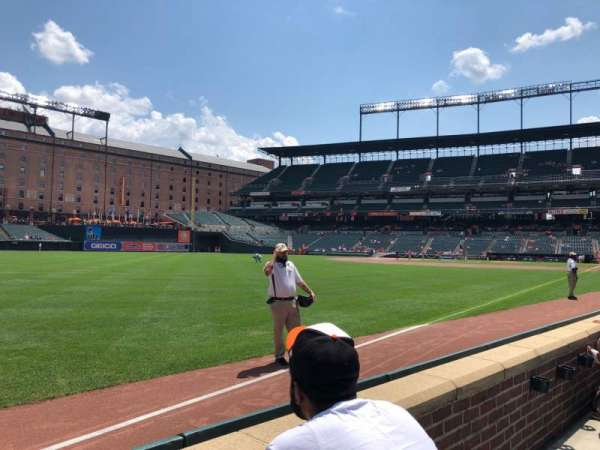 Oriole Park at Camden Yards, section: 70, row: 2, seat: 5