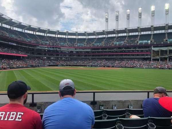 Progressive Field, section: 103, row: E, seat: 10
