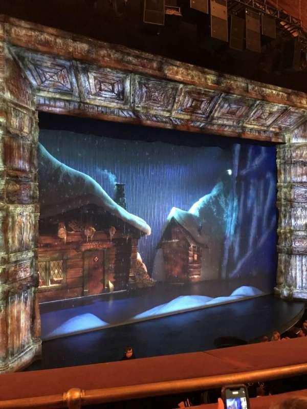 St. James Theatre, section: Mezzanine L, row: B, seat: 11