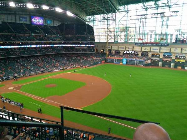 Minute Maid Park, section: 330, row: 3, seat: 1