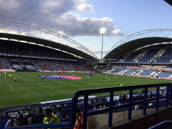 John Smith's Stadium, section: Kilner Bank, row: P, seat: 186