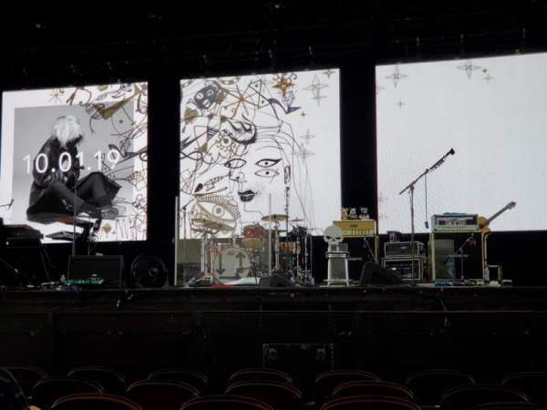 Leader Bank Pavilion, section: 2, row: G, seat: 10