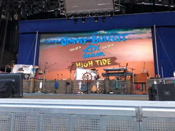 Jones Beach Theater, section: Orchestra A, row: A, seat: 5