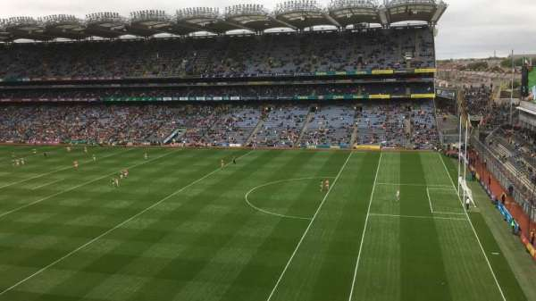 Croke Park, section: 701, row: B, seat: 18