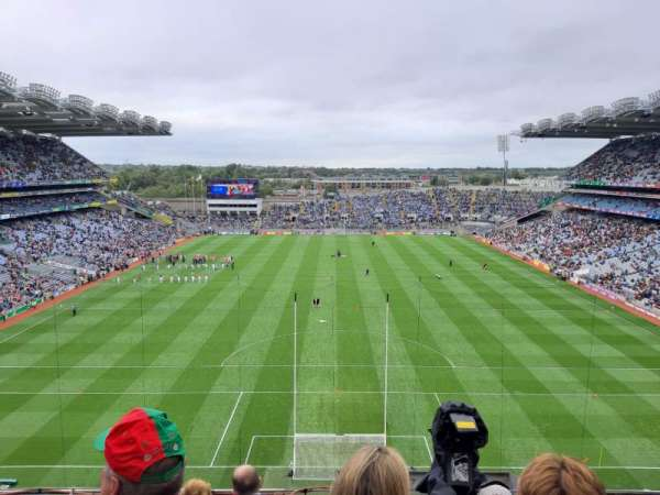 Croke Park, section: 719, row: E, seat: 1