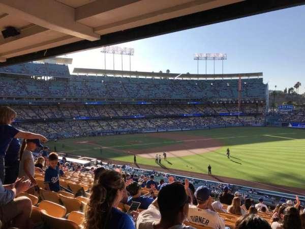 Dodger Stadium, section: 154LG, row: R, seat: 8
