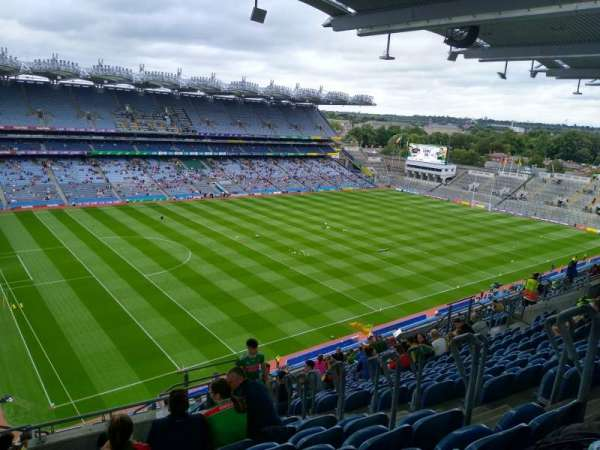 Croke Park, section: 711, row: RR, seat: 20