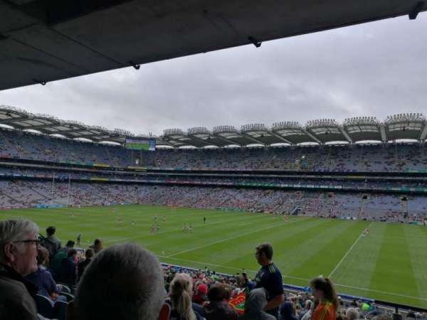 Croke Park, section: 303, row: QQ, seat: 20