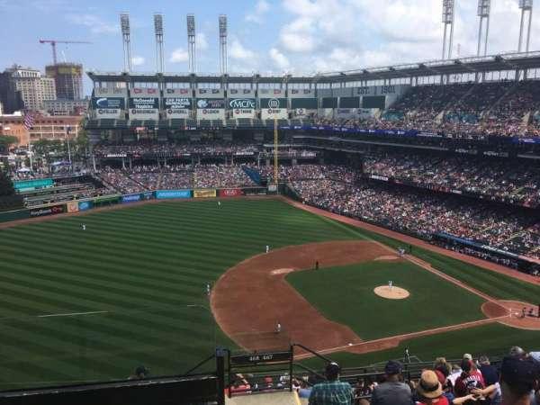 Progressive Field, section: 567, row: J, seat: 24