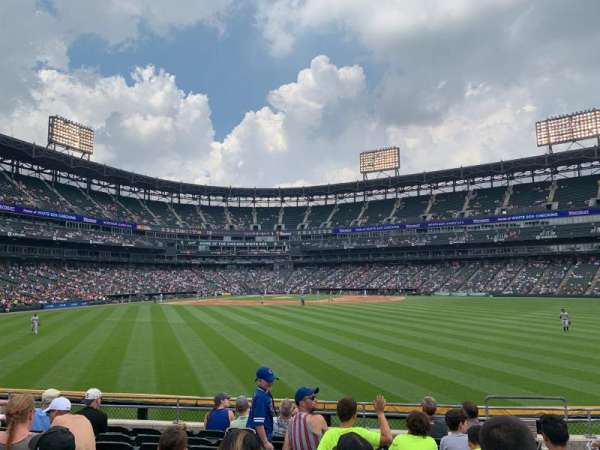 Guaranteed Rate Field, section: 102, row: 9, seat: 4