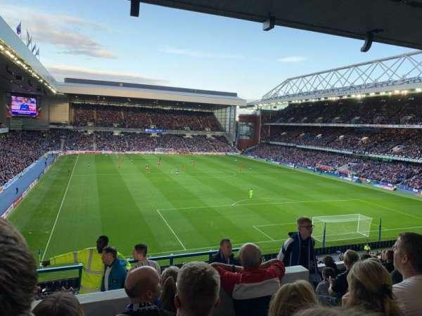 Ibrox Stadium, section: BR5, row: I, seat: 147