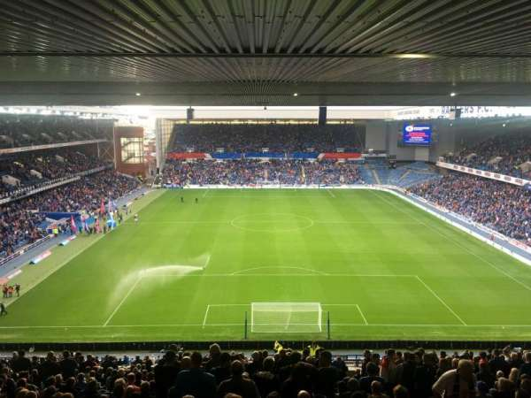 Ibrox Stadium, section: CR3, row: EE, seat: 89