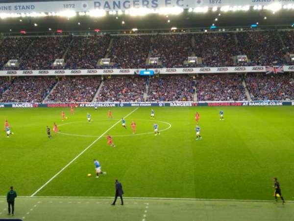 Ibrox Stadium, section: Mfk, row: H, seat: 134