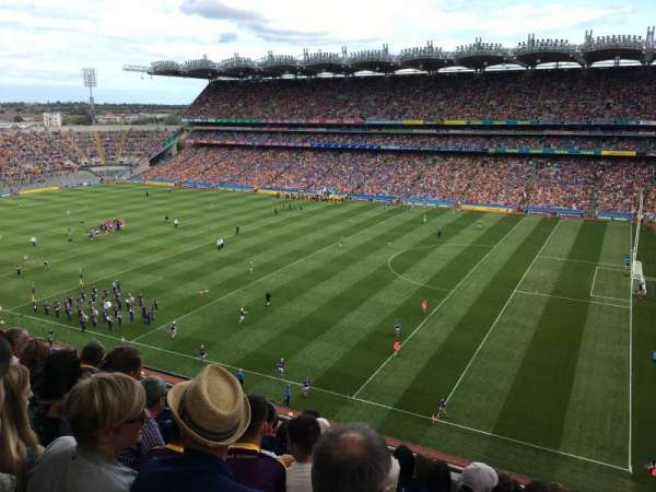 Croke Park, section: 727, row: H, seat: 10