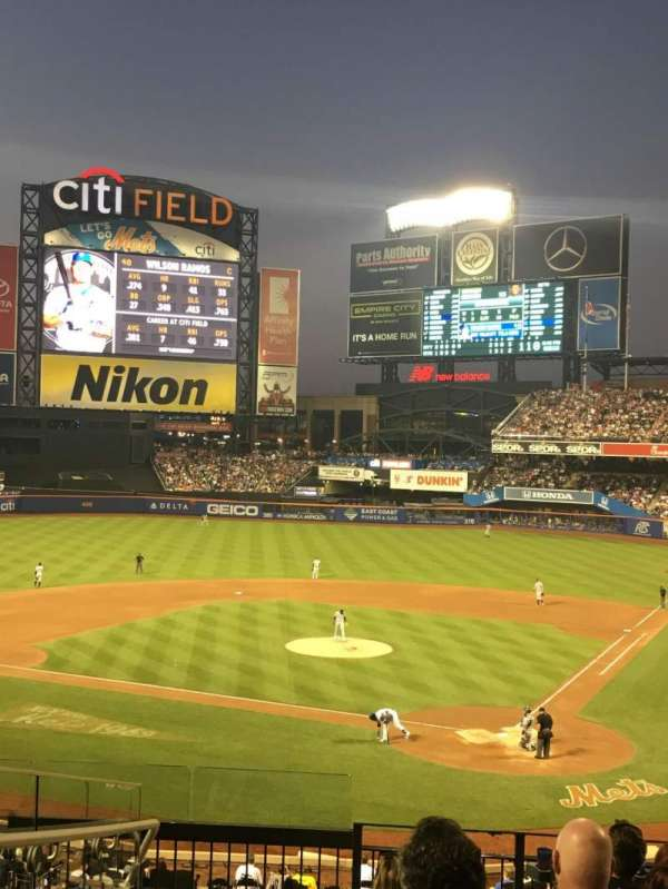 Citi Field, section: 118, row: 7, seat: 10