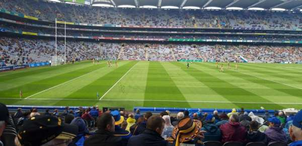 Croke Park, section: 309, row: V, seat: 12
