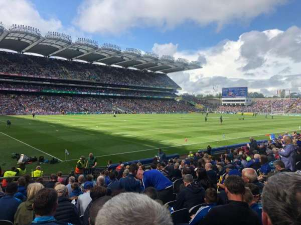 Croke Park, section: 312, row: R, seat: 12