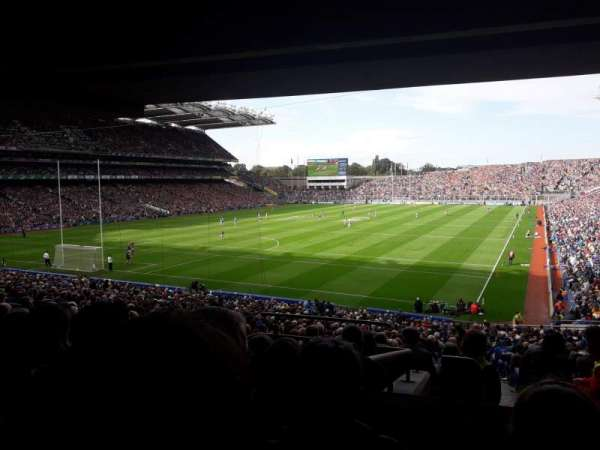 Croke Park, section: 315, row: Tt, seat: 21